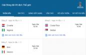 Lịch thi đấu World Cup 2018 hôm nay (17/6): Đức gặp Mexico