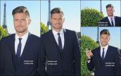Ngắm nhìn Olivier Giroud: Nam thần đẹp trai `nhất nhì` đội tuyển Pháp