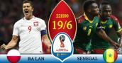 Xem trực tiếp bóng đá World Cup 2018 Ba Lan vs Senegal ở đâu tốt nhất?