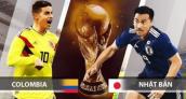 Xem trực tiếp bóng đá World Cup 2018 Colombia vs Nhật Bản ở đâu?