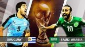 Link xem trực tiếp bóng đá World Cup 2018 Uruguay vs Ả Rập Xê Út tốt nhất