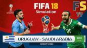Xem trực tuyến bóng đá Uruguay vs Saudi Arabia, bảng A World Cup 2018