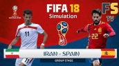 Xem trực tiếp World Cup 2018 Iran vs Tây Ban Nha lúc 1h00 ngày 21/6