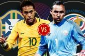 Link xem trực tiếp bóng đá World Cup 2018 Brazil vs Costa Rica tốt nhất