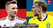 Xem trực tiếp bóng đá World Cup 2018 Đức vs Thụy Điển tốt nhất