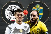 Xem trực tuyến bóng đá Đức vs Thụy Điển, bảng F World Cup 2018 lúc 1h00 ngày 24/6