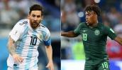 Link xem trực tuyến bóng đá Nigeria vs Argentina, bảng D World Cup 2018 lúc 1h00 ngày 27/6