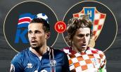 Xem trực tiếp bóng đá World Cup 2018 Iceland vs Croatia tốt nhất