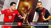 Xem trực tiếp bóng đá World Cup 2018 Thụy Sĩ vs Costa Rica tốt nhất