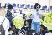 Xuân Lan cùng 200 mẫu nhí tích cực tập luyện cho show diễn lớn tại Nha Trang