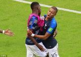 Kết quả bóng đá Pháp vs Argentina: