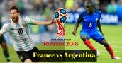Link xem trực tiếp bóng đá Pháp vs Argentina, vòng 1/8 World Cup 2018