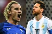 Xem trực tiếp bóng đá World Cup 2018 Pháp vs Argentina tốt nhất