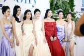 Dàn Hoa hậu, Á hậu xuất hiện lộng lẫy trong show của Hà Duy