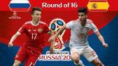 Link xem trực tiếp bóng đá Tây Ban Nha vs Nga, vòng 1/8 World Cup 2018