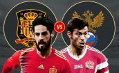 Xem trực tiếp bóng đá World Cup 2018 Nga vs Tây Ban Nha tốt nhất