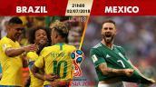 Link xem trực tiếp bóng đá Brazil vs Mexico, vòng 1/8 World Cup 2018 lúc 21h00 ngày 2/7