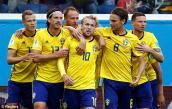 Kết quả bóng đá World Cup 2018 Thụy Điển vs Thụy Sỹ: Bất ngờ tăng tốc, hạ sát nút đối thủ