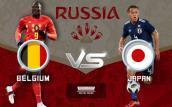 Link xem trực tiếp bóng đá Bỉ vs Nhật Bản, vòng 1/8 World Cup 2018 lúc 1h00 ngày 3/7