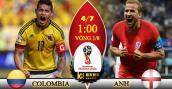 Xem trực tiếp bóng đá World Cup 2018 Colombia vs Anh tốt nhất
