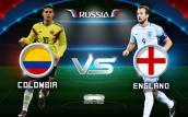 Link xem trực tiếp bóng đá World Cup 2018 Colombia vs Anh, vòng 1/8 lúc 21h00 ngày 4/7