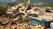 Đình chỉ hoạt động của mỏ đất khiến xe và tài xế bị vùi lấp