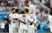 Kết quả bóng đá World Cup 2018 Uruguay vs Pháp: