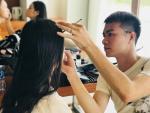 Chuyên gia Make up Trường Tashi đồng hành cùng các thí sinh cuộc thi Hoa hậu VN 2018