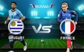Link xem trực tiếp bóng đá Uruguay vs Pháp, tứ kết World Cup 2018