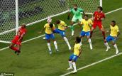 Kết quả bóng đá Brazil vs Bỉ: Điệu Samba lạc nhịp