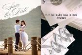 Lộ thiệp cưới của Á hậu Tú Anh và bạn trai thiếu gia