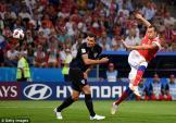 Kết quả bóng đá World Cup 2018 Nga vs Croatia: Dượt đuổi gay cấn, dừng bước trong tự hào