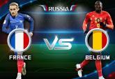 Link xem trực tiếp bóng đá Pháp vs Bỉ, bán kết World Cup 2018