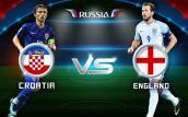Link xem trực tiếp bóng đá Anh vs Croatia, bán kết World Cup 2018 lúc 1h00 ngày 12/7