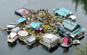 Cặp đôi dành 20 năm xây dựng cả một hòn đảo làm