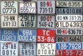 Sự thật thú vị sau màu sắc các loại biển số xe tại VN