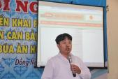 Áp dụng thực đơn cân bằng dinh dưỡng cho học sinh bán trú Đồng Nai