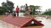 Bầu Đức thông tin chi tiết việc trực thăng đưa công nhân ở Lào ra khỏi vùng ngập