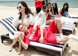 Hương Giang diện áo tắm gợi cảm, đội nắng suốt 2 ngày quay MV cùng Mr Đàm