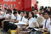 Tưng bừng ngày hội tuyển dụng tiếp viên Vietjet trong tháng 8