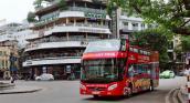 Từ ngày 1-9, Hanoi City Tour chạy thêm buổi tối