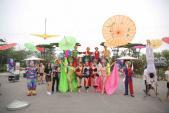 Hàng nghìn du khách đến với phố đi bộ FLC Sầm Sơn trong dịp nghỉ lễ 2/9