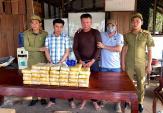 Hai người Lào vận chuyển 200.000 viên ma túy sang Việt Nam