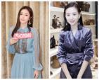 Cặp đối thủ Phú Sát hoàng hậu Tần Lam - Đổng Khiết đọ sắc bất phân thắng bại tại Tuần lễ thời trang Milan