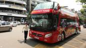 Hà Nội mở tuyến buýt hai tầng thoáng nóc số 02 vào ngày 10-10
