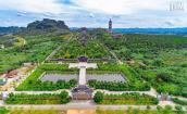 Ngắm toàn cảnh vẻ đẹp lộng lẫy của quần thể chùa Bái Đính