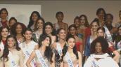 Thùy Tiên trổ tài hát, đánh đàn trong buổi ra mắt tại Hoa hậu Quốc tế