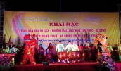 """Khai mạc """"Tuần văn hóa du lịch - thương mại làng nghề Vạn Phúc"""" 2018"""