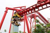 Chỉ với 50.000 đồng, vui chơi thỏa thích tại Dragon Park