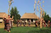Làng Văn hóa - Du lịch các dân tộc Việt Nam cán mốc nửa triệu khách năm 2018
